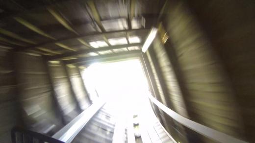 Er man tilstrekkelig redd hender det man ser lyset i enden av tunnellen!